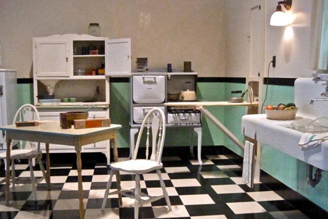Cocina Americana en 1930
