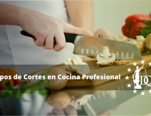 Tipos de Cortes en Cocina Profesional | Estudiar Cocina Online