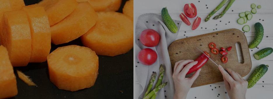 Tipos de Cortes en Cocina profesional Vichy