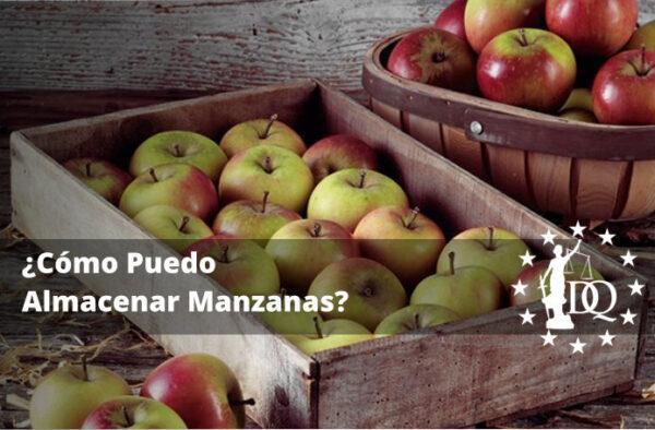 Cómo Puedo Almacenar Manzanas