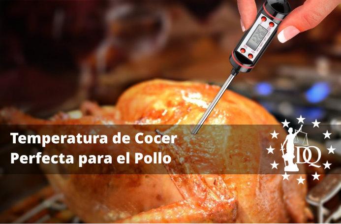 Temperatura de Cocer Perfecta para el Pollo